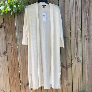 Eileen Fisher Linen blend cardigan